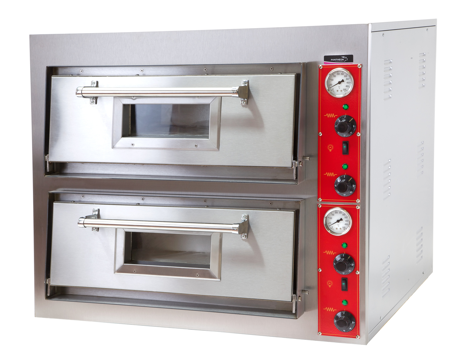 PO4+4 Double Deck Pizza Oven | Pantheon Catering Equipment